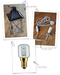 Easy DIY Lantern Lamp - Decor10 Blog