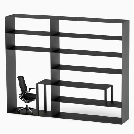 Nendo Reconfigures Office Furniture Elements Into Hybrid