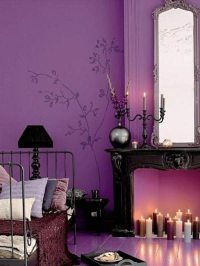 Interior Design Ideas  The Purple Color In The Interior
