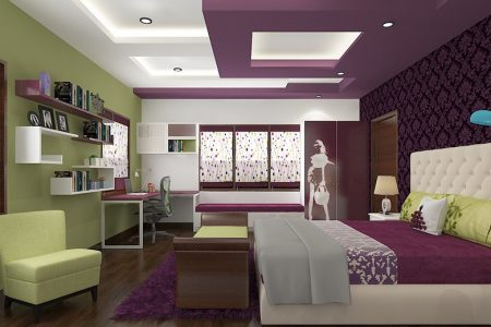 Modern Gypsum Board Ceiling