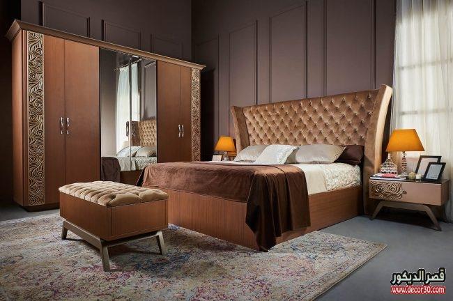 غرف نوم دمياط مودرن وكلاسيك ديكورات متنوعة ٢٠١٨ قصر الديكور