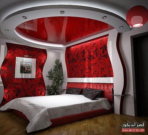 تصاميم جبس بورد لغرف النوم أحدث أشكال جبس بورد 2018 قصر