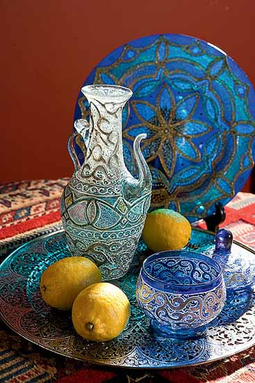 Moroccan Furniture Decorating Fabrics and Materials for