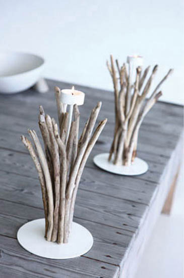 Ideas For Decorating A Fireplace Mantel Eco Friendly Table Decorations And Centerpieces, Driftwood