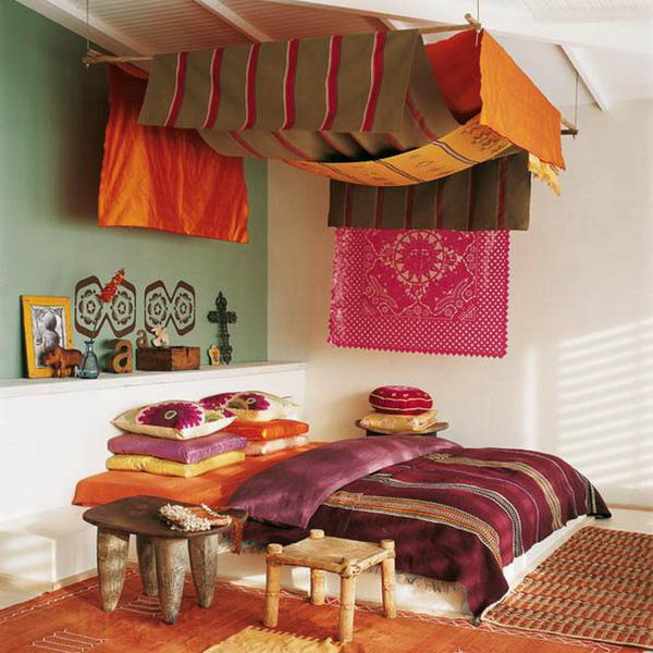 16 Bedroom Decorating Ideas with Exotic African Flavor