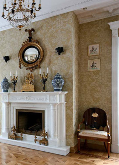 traditional living rooms with oriental rugs country lamps room how to use antiques for modern interior decorating in ...