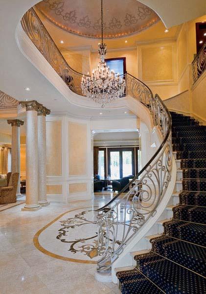 Modern Interior Design in Neo Classic Style, Beautiful ...