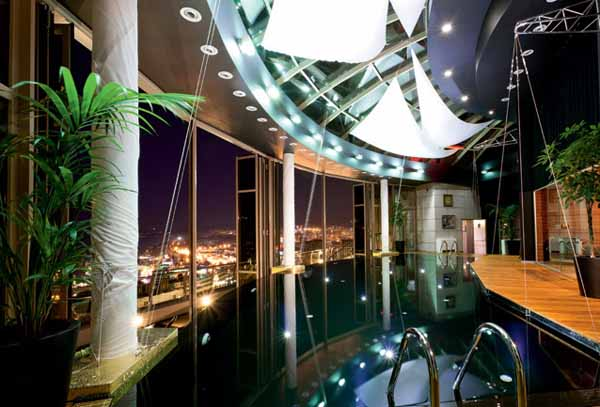 3 Story Penthouse In Sochi Nautical Decor Luxurious Contemporary Homes