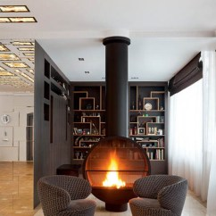 Leather Furniture Living Room Decorating Small Chair Beautiful Fireplaces, 15 Ideas For Interior ...