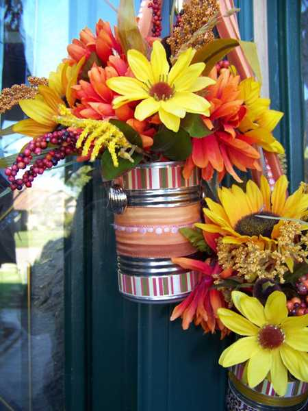 Simple Fall Flower Arrangements Make Gorgeous Party Table Centerpieces