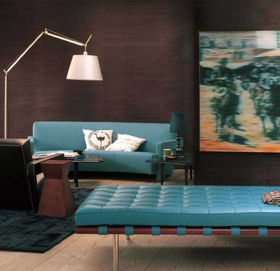 turquoise and brown living room decorating ideas modern bench seating chocolate interior colors comfortable