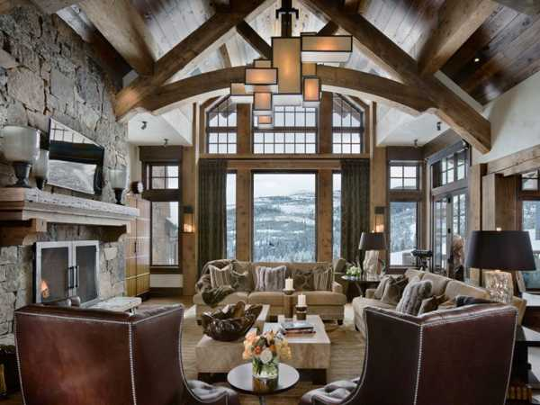 Gorgeous Homes In Alpine Chalet Style Country Home