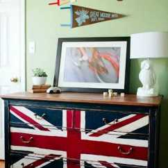 Country Kitchen Decorations Refinishing Cabinets White 30 Patriotic Decoration Ideas, Union Jack Themed Decor In ...