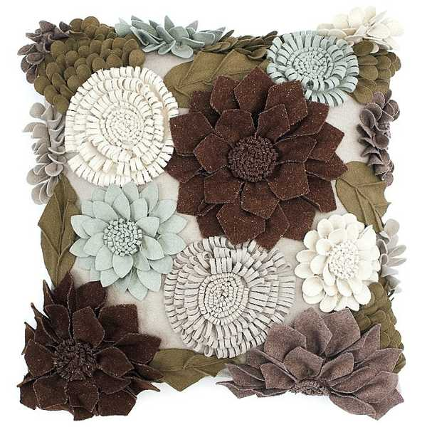 20 Creative Decorative Pillows Craft Ideas Playing With