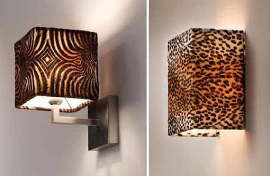 wall colors for living room with brown furniture curtains and pillows exotic trends in home decorating bring animal prints into ...