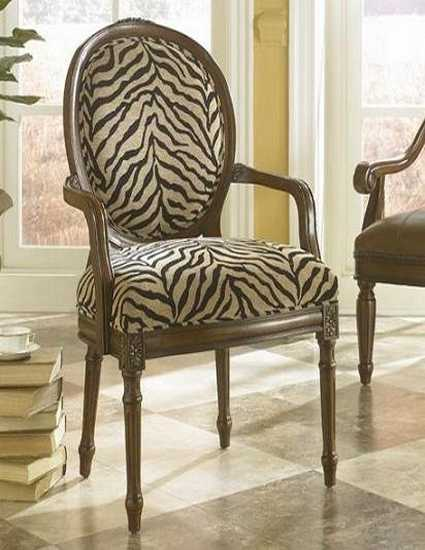 Black And White Dining Room Decorating With Zebra Prints