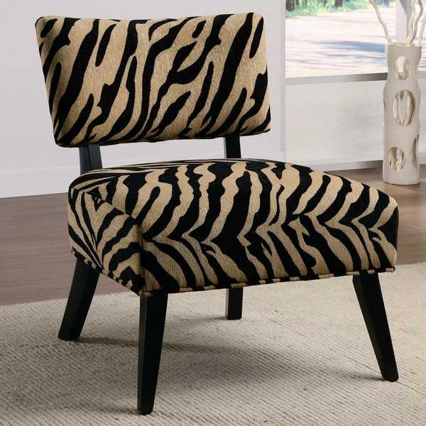 accent chair yellow egg wicker chairs outdoor 21 modern living room decorating ideas incorporating zebra prints into home decor