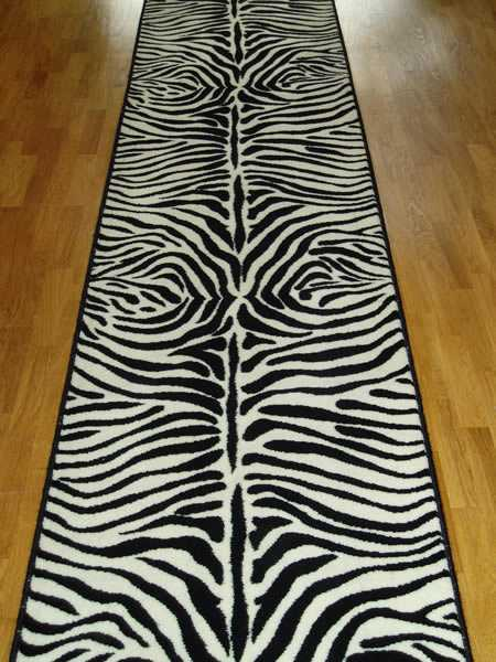 Exotic Home Decorating Ideas Allowing Zebra Prints to