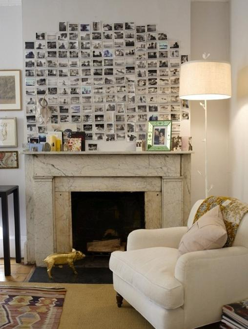 22 Beautiful Fireplace Designs and Summer Decorating Ideas for Fireplace Mantels and Walls