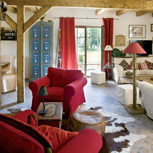 french country accent chair types of bean bag chairs home decorating ideas, interiors with brocante vibe