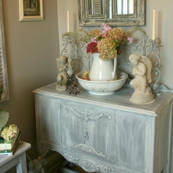 paint for the living room ideas color light brown furniture shabby chic decorating inspired by beautiful flowers ...