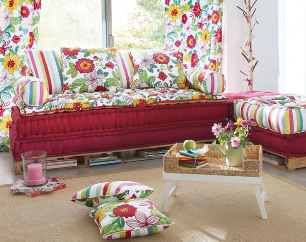Bright Decor Accessories And Color Combinations For Summer