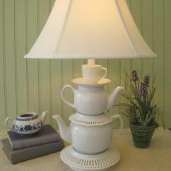Cheap Living Room Colour Schemes For Rooms Brown Recycling Tea Cups And Pots Creative Home ...