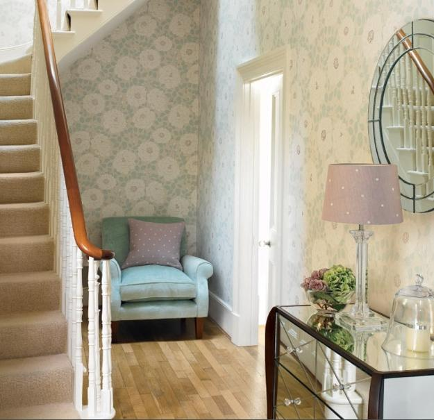 Modern Interior Decorating with Home Fabrics in Light ...