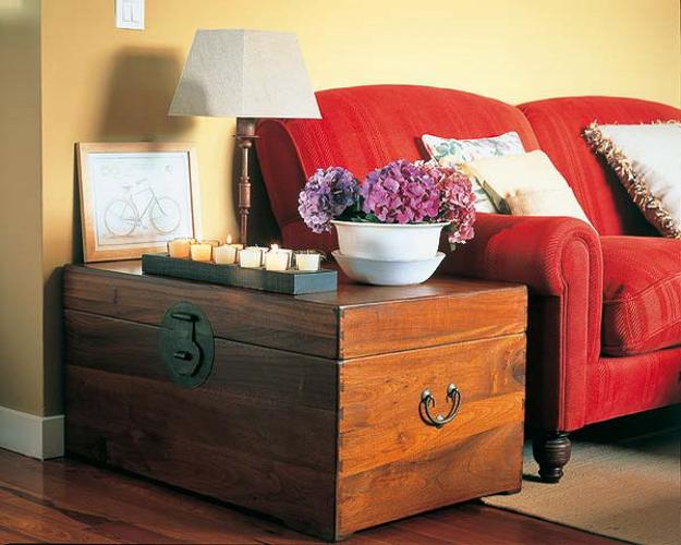 retro living room coffee table small designs kerala style 40 ways to enhance decor with chests and trunks in ...