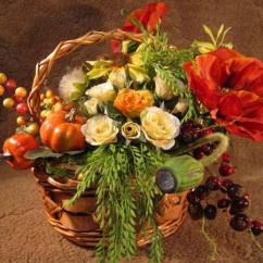 Simple Elegant Living Room Designs Corner Cabinet 25 Fall Flower Arrangements, Thanksgiving Table ...