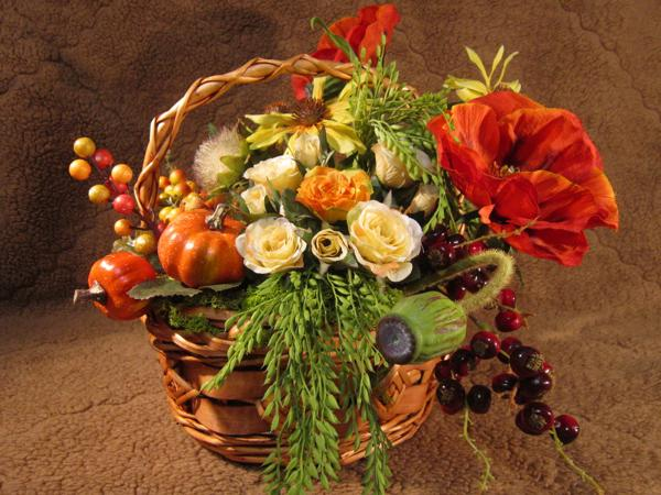 living room blue decorating ideas how to decorate narrow 25 fall flower arrangements, thanksgiving table ...