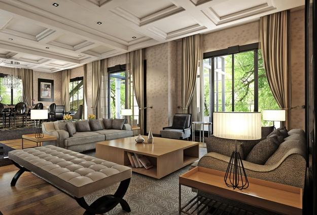 Rich Interior Decorating Ideas Creating Luxurious Modern Home Decor In Eclectic Style