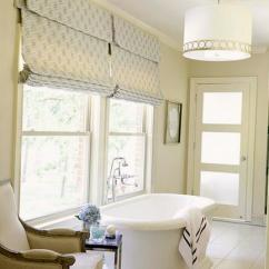 Decorating Kitchen Cabinets Trash Can Pull Out Roman Shades For Modern Kitchens And Bathroom