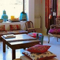 Design Ideas For Black And White Living Room Bench Coffee Table 20 Oriental Interior Decorating Bringing Exotic Chic ...