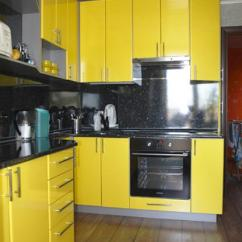 Modern Kitchen Stools Cool Sinks Black And Yellow Color Schemes For Decor