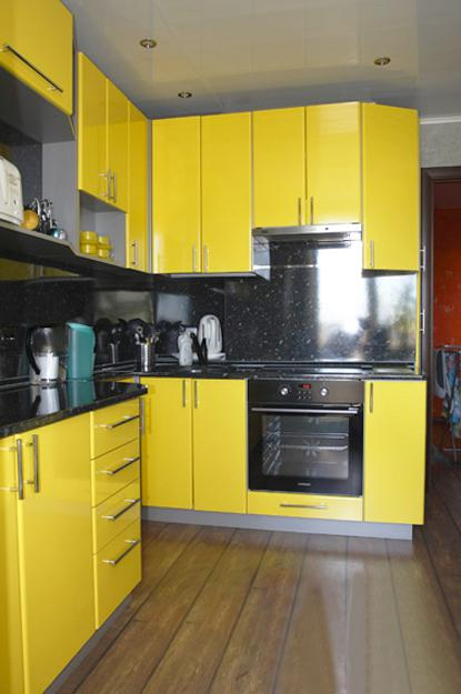 modern kitchen stools cabinets at ikea black and yellow color schemes for decor
