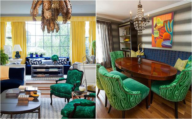 Malachite Green Colors and Modern Decor Ideas