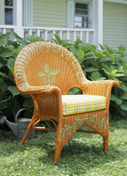 Painting Ideas For Outdoor Furniture And Decoration In - Wicker Patio Furniture