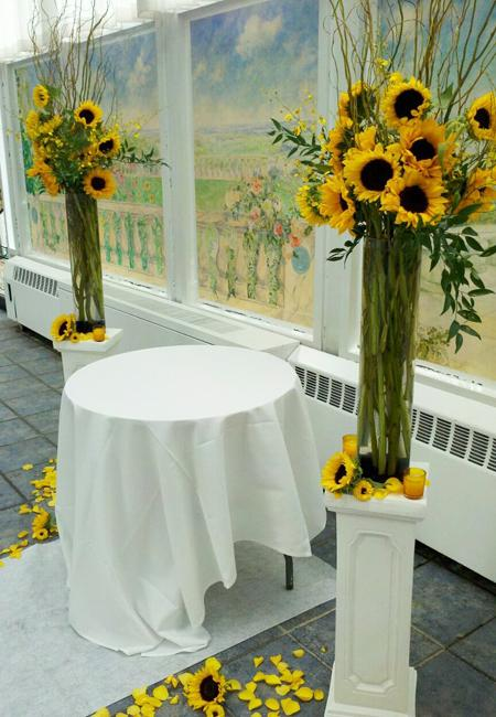 modern white living room furniture grey rooms with brown beautiful flowers and unique sunflower wedding decorating ...