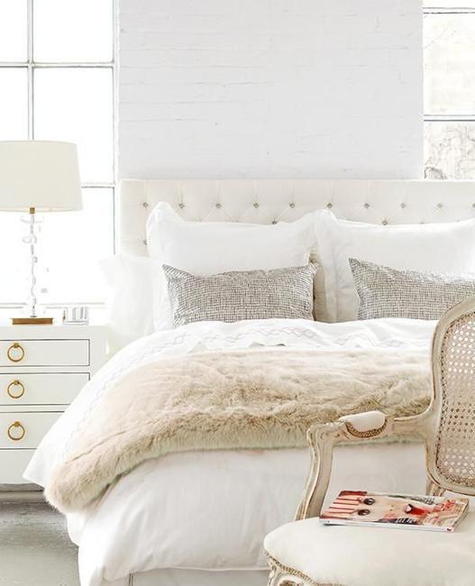 25 Modern Ideas for White Bedroom Decorating