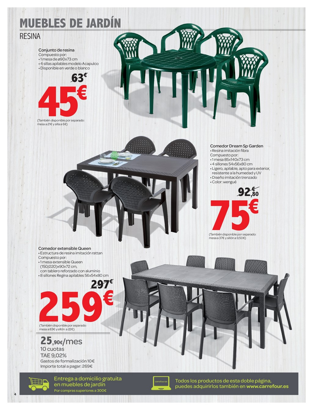 Muebles De Jardin De Carrefour Decorablog Revista De Decoración