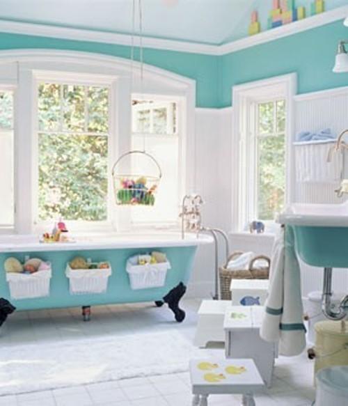 Banheiro para as crianas