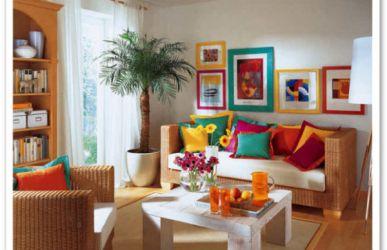 Decoração de casas simples e barato Dicas e Fotos