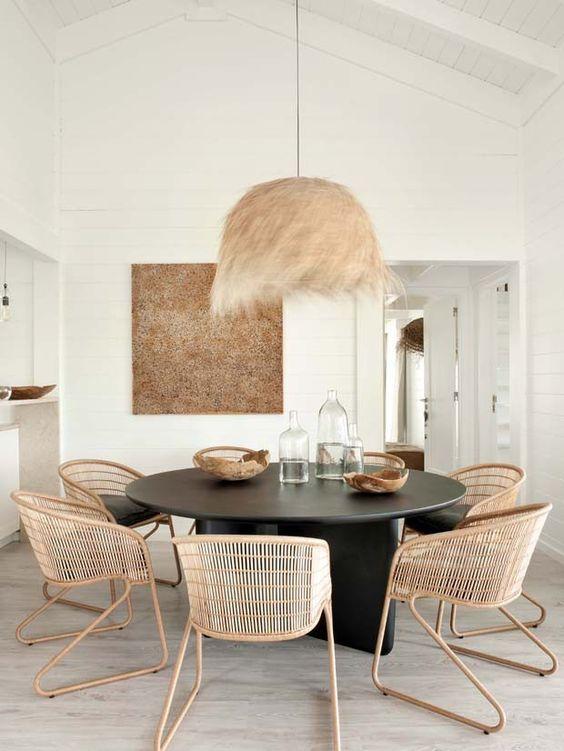 15 Ideias Para Salas De Jantar Com Mesa Redonda