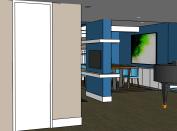 Interiorismo amueblamiento. diseño de muebles ideas para amueblar salón con comedor094