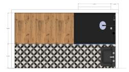 proyecto escaparte para tienda de reformas - decoraCCion - 037
