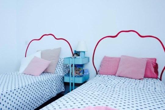 decoraCCion-amueblamiento vintage lowcost-casa verano-decoración salon y dormitorios 32