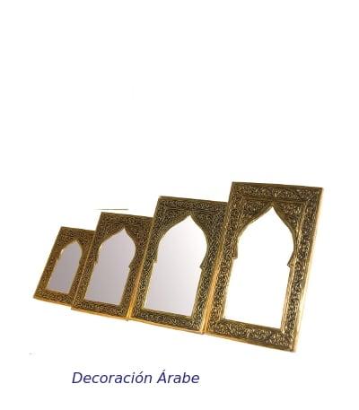 espejos árabes cincelados