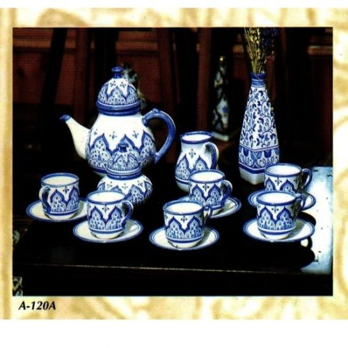 huego de té cerámica andaluza árabe