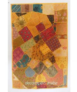 tapiz india amarillo